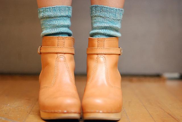 Jenny Gordy's socks