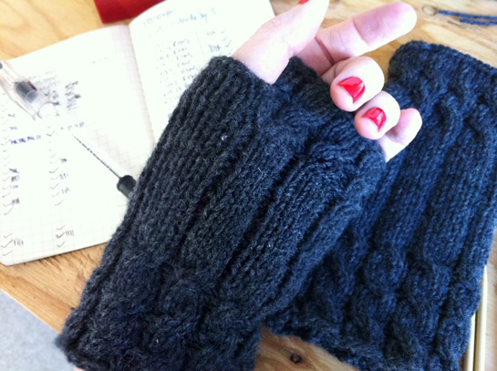 finished fetching mitts