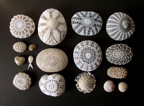 knitalatte crochet stones