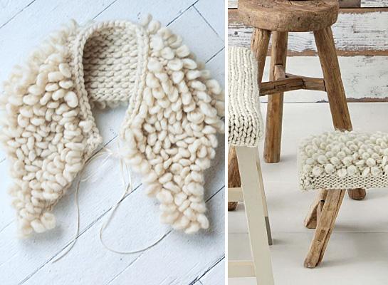 loop stitch knitting