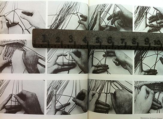macrame knot tying details diagrams