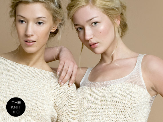 the knit kid ivory sweater dresses