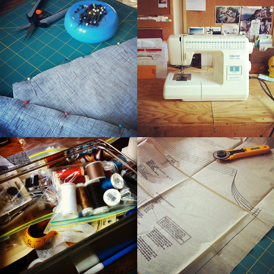 sewing day