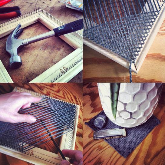 weavette style hand loom