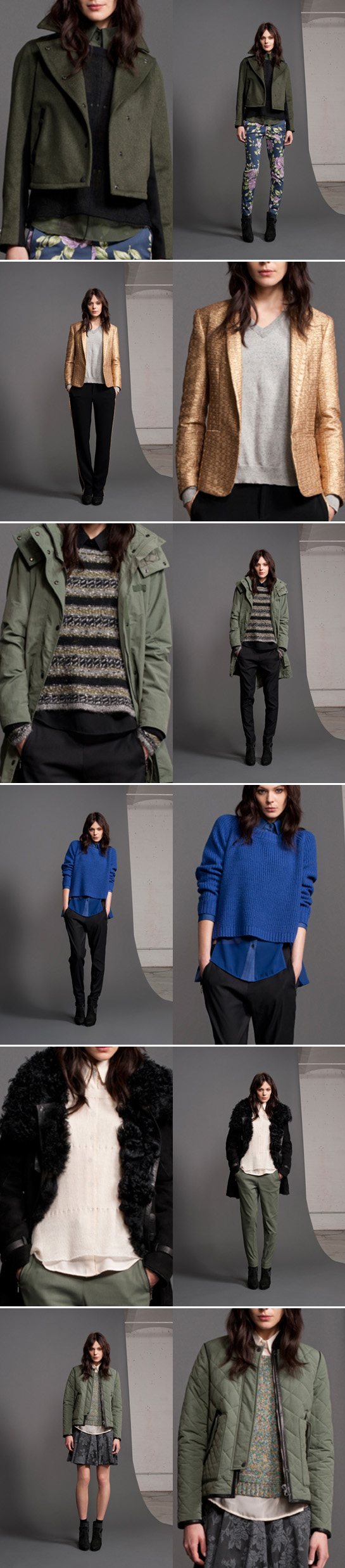 rag & bone resort 2013 sweaters