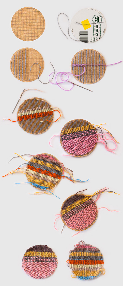 karen barbe woven patches