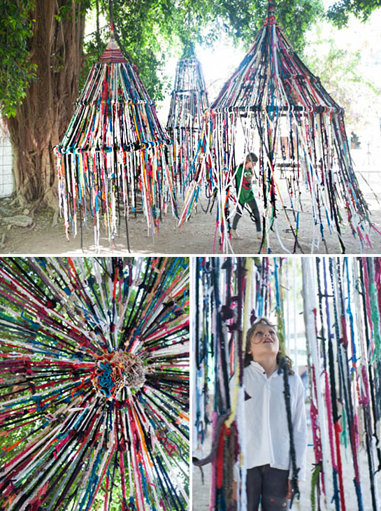 The Intersection Of Art And Finger Knitting Fringe