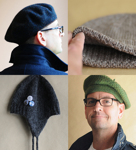 kent turman knitted hats berets