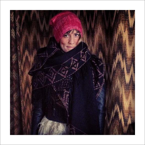 gretchen jones pink knitted beanie hat pattern