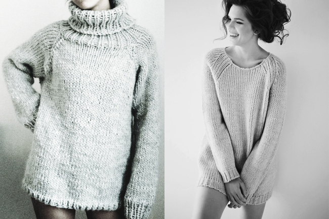 Bulky Knit Sweater Patterns Free : Remind me to shoot my next sweater like this Fringe Association