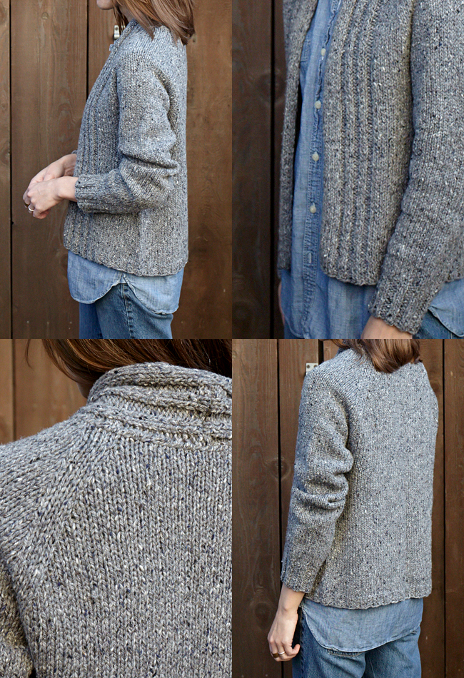 walpole chunky knitted cardigan how to