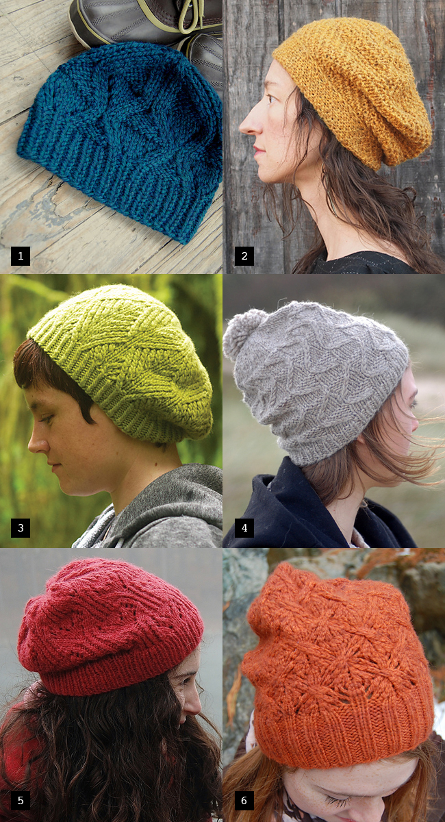 Knitter s delight: Beautifully textured hats Fringe Association