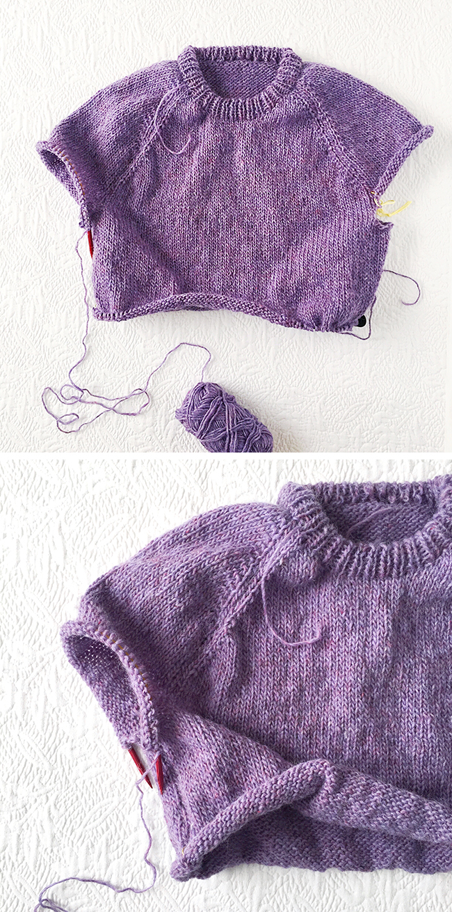 How To Improvise A Top Down Sweater Part 5 The Art Of Sweater