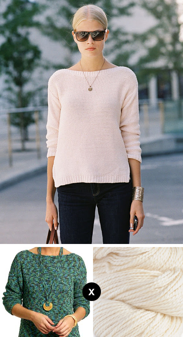 Pattern Knitting Hat : Knit the Look: Franziska Frank s easy summer tunic Fringe Association