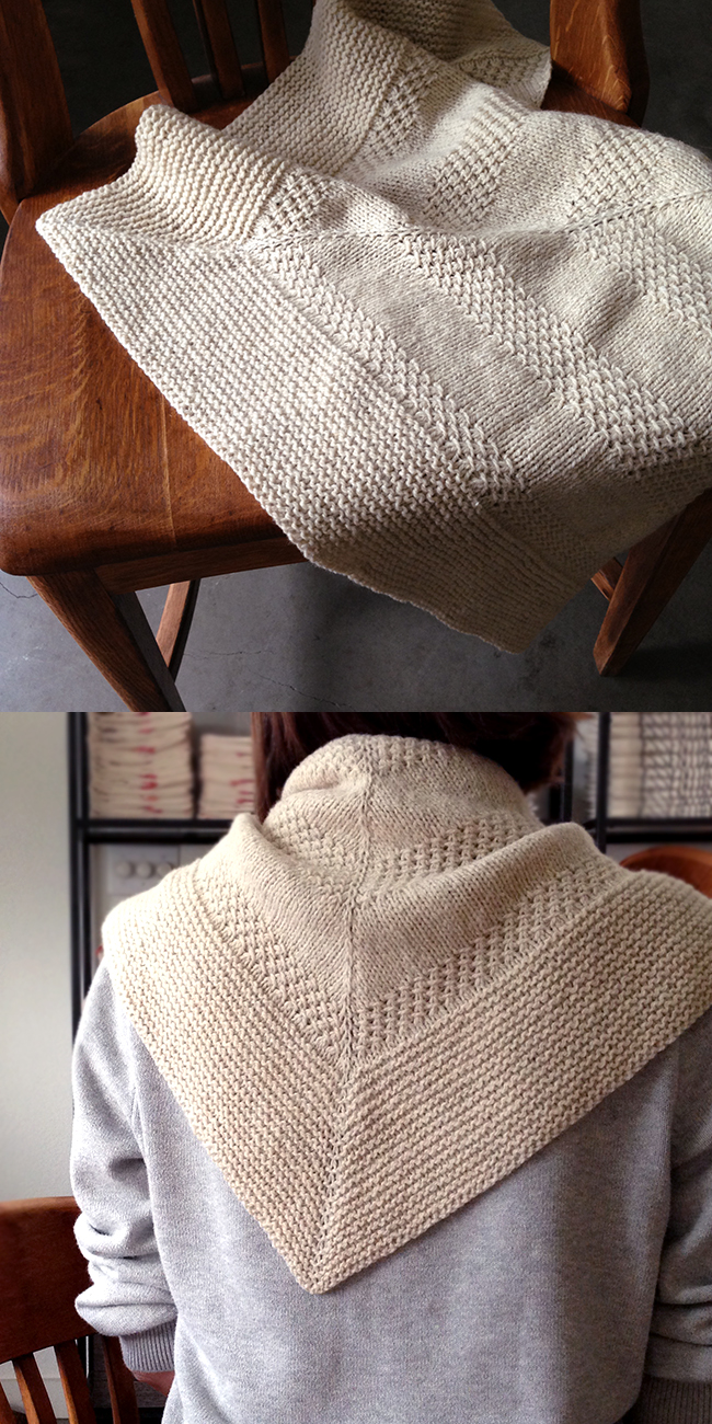 Orlane's Textured Shawl