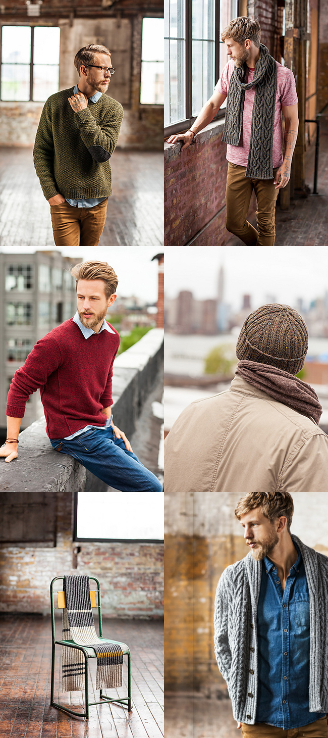 New favorites from Brooklyn Tweed BT Men collection