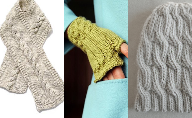 Free Knitting Stitches Patterns For Beginners : Cable patterns for first-timers Fringe Association