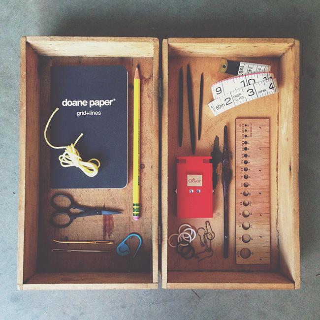 The knitter's basic tool kit