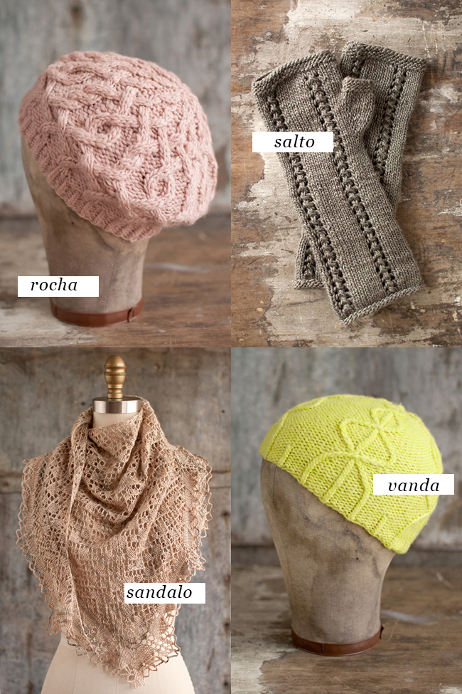 Four beautiful Manos patterns, four beautiful prizes