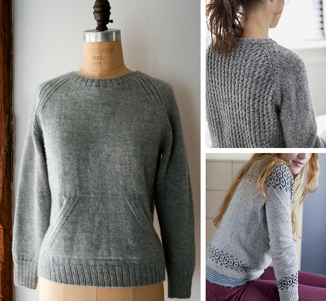 Free Knit Sweater Patterns For Beginners : Free knit sweater patterns for beginners