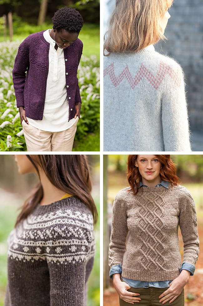 Knitting Patterns For Sweaters In The Round : New Favorites: Round yoke sweaters Fringe Association