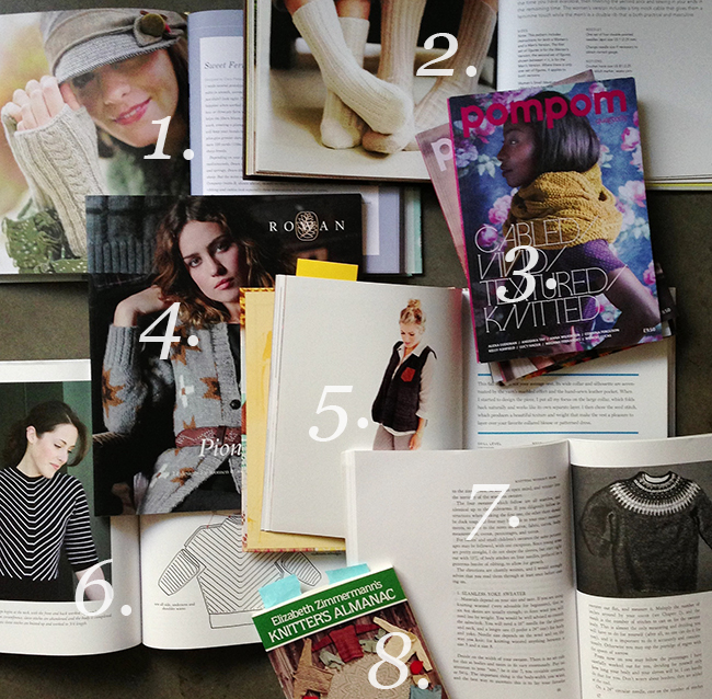 Top Knitting Pattern Books : Q for You: What are your favorite knitting pattern books? Fringe Association