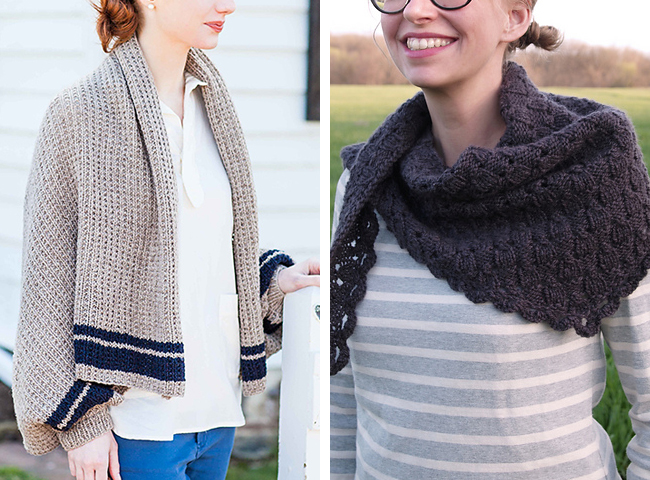 Best of New Favorites: Scarf/shawl patterns