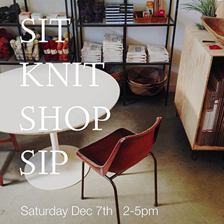 Fringe Supply Co.'s Sit & Knit & Shop & Sip event