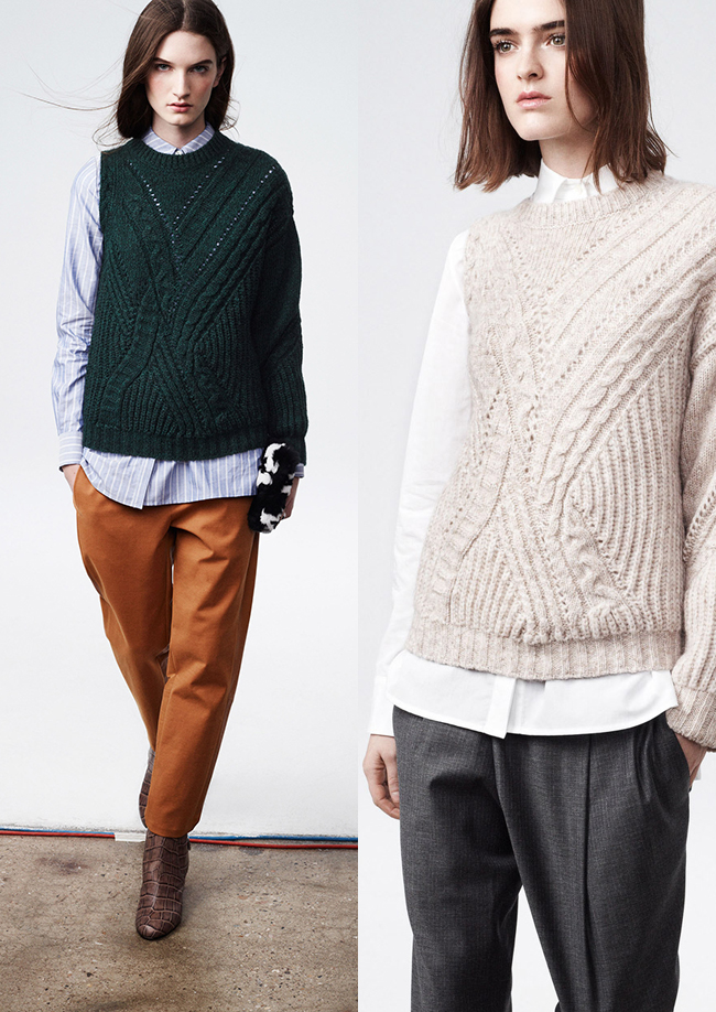 What do we think of the one-armed sweater?
