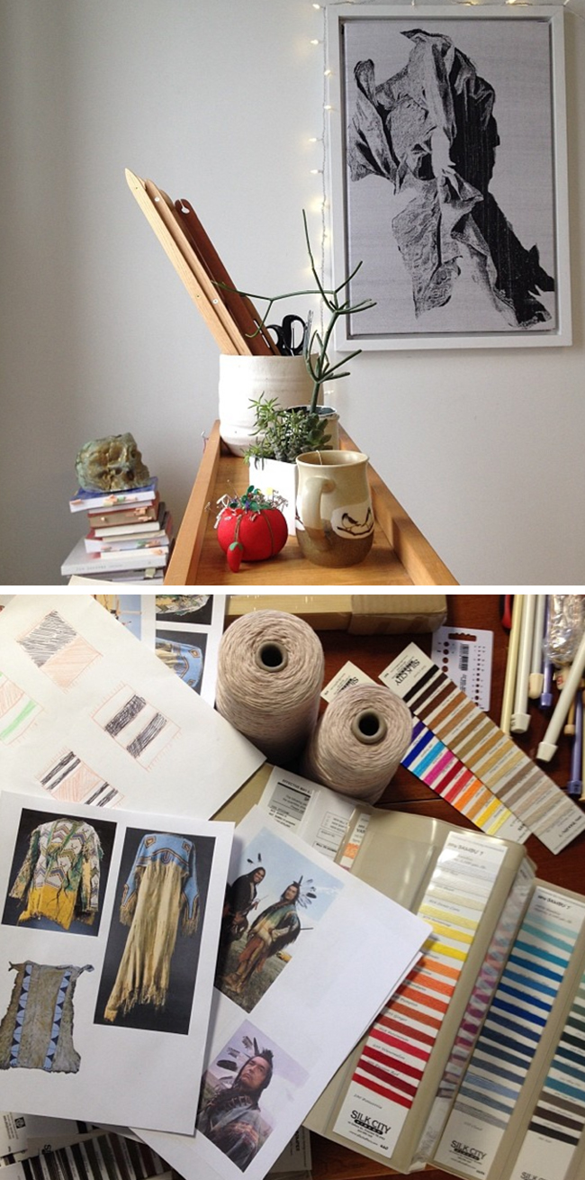 Behind the scenes with Noelle Sharp of Aporta Textiles