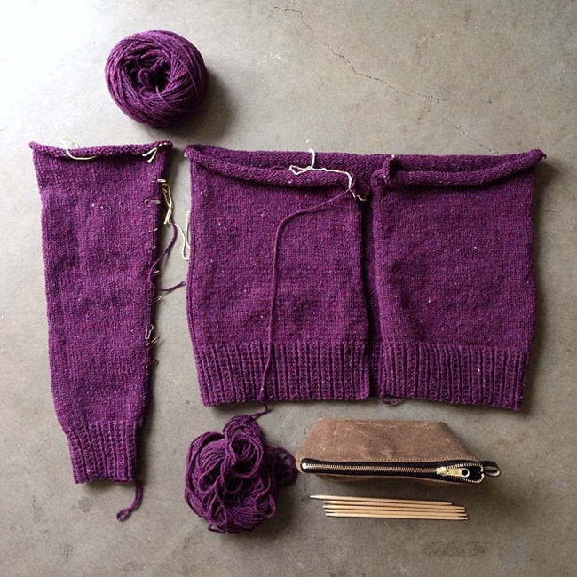 Tag Team Sweater Project update