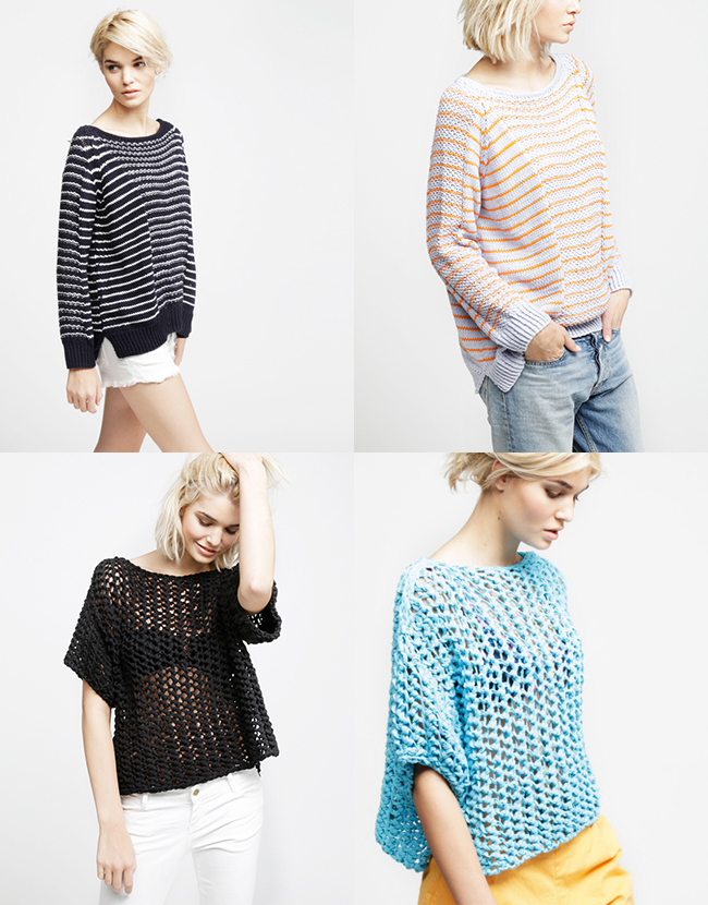 New Favorites: Wool and the Gang cotton toppers