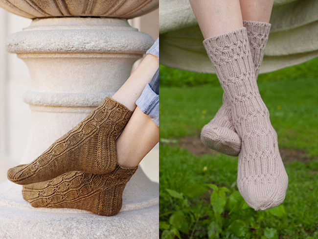New Favorites: Cable-ish socks