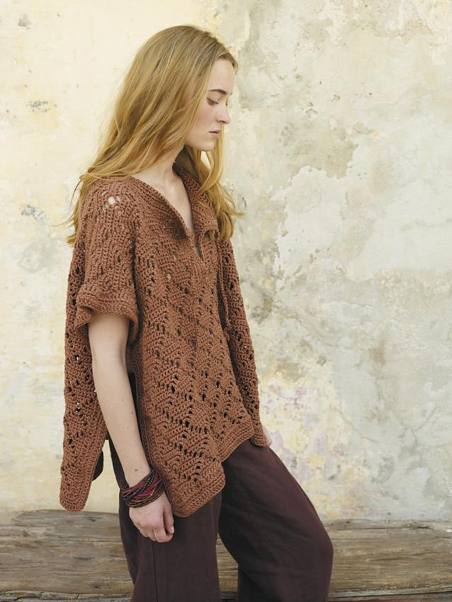 New Favorites: Groovy crochet tunic