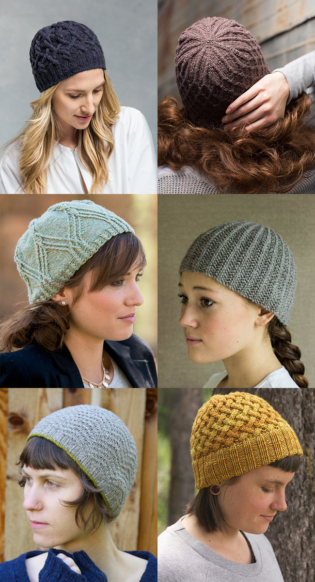 New Favorites: Slouchless beanie patterns