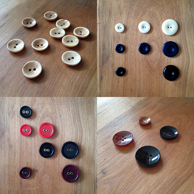 NEW! Buttons worty of your handmade garments
