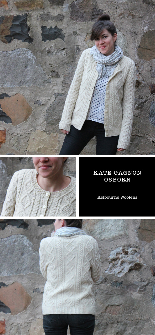 Knitalong FO No. 3: Kate Gagnon Osborn