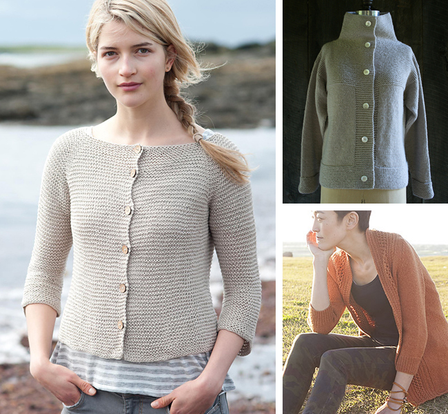 Cardigans For First Timers Or How Button Bands Happen Fringe