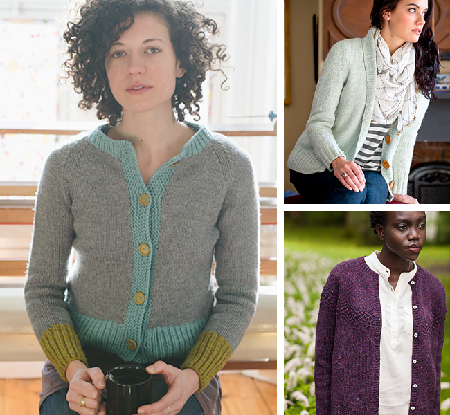 Cardigan patterns for first-timers