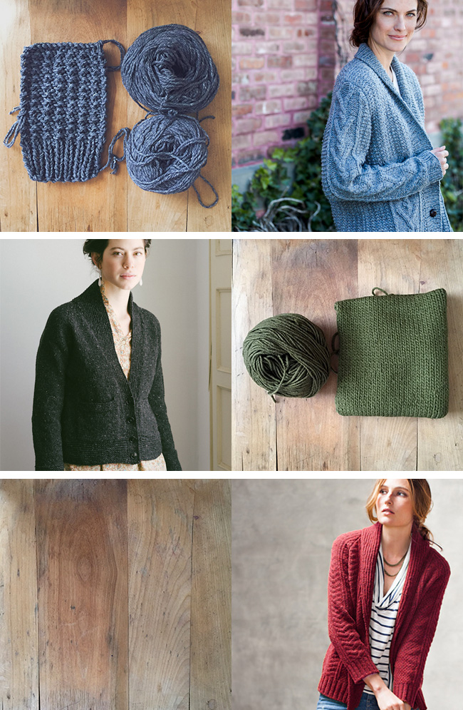 Reorganizing my to-knit list
