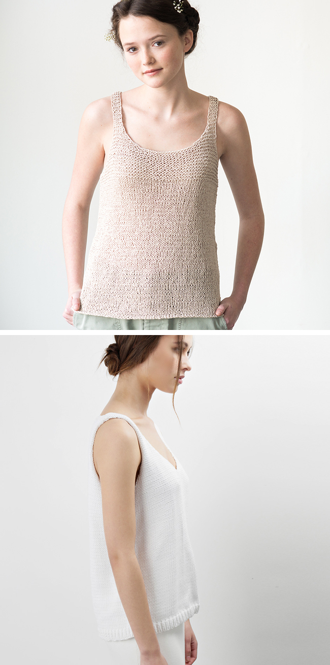 New Favorites: Tank sweater knitting patterns
