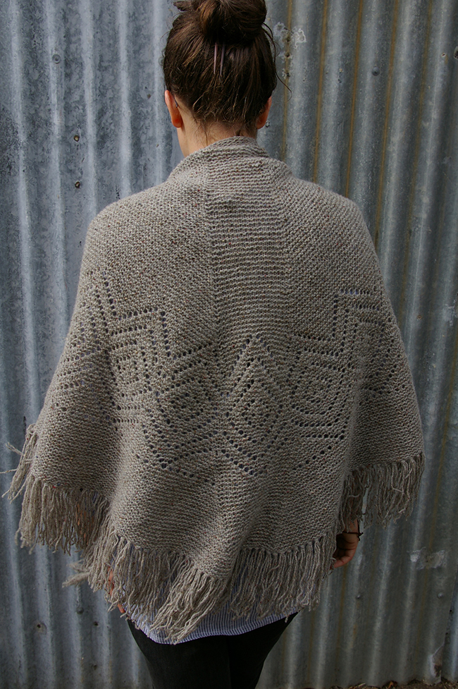 FO Sightings: Woollenflower's Faroese dream shawl
