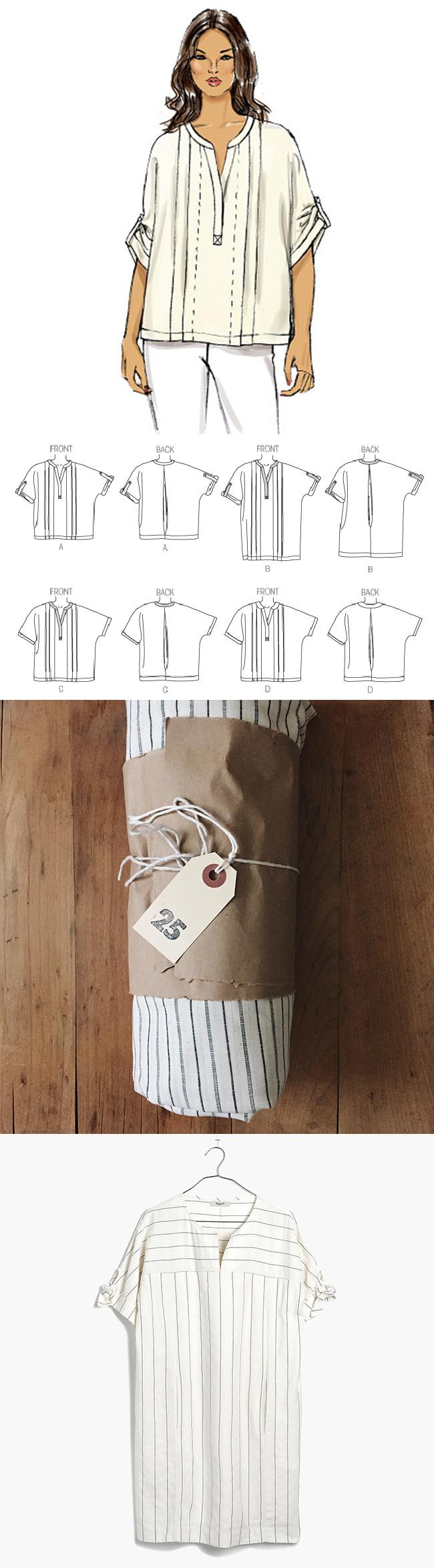 Idea Log: The pinstripe dress