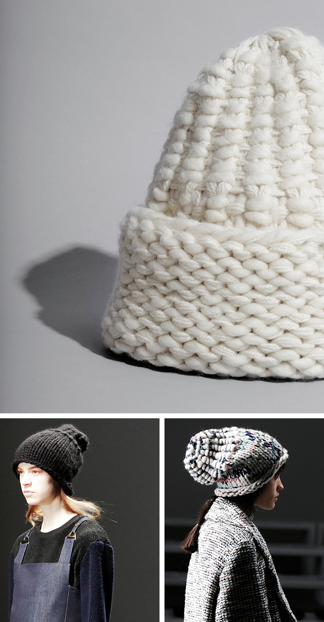 New Favorites: the WATG x Raeburn beanies