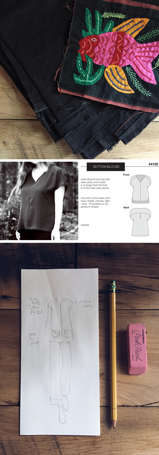 Idea Log: The mildly Folksy tunic