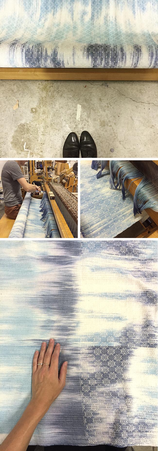 Slotober Frock step 1: Yarn becomes fabric