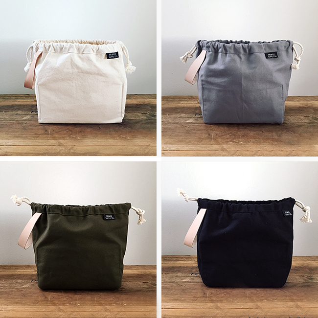 Fringe Supply Field Bag — now in colors!