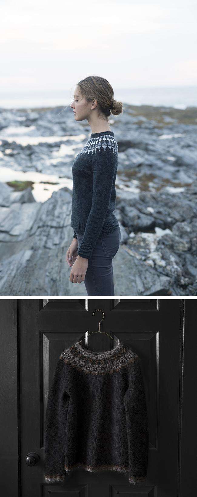 New Favorites: Dark yoke sweaters