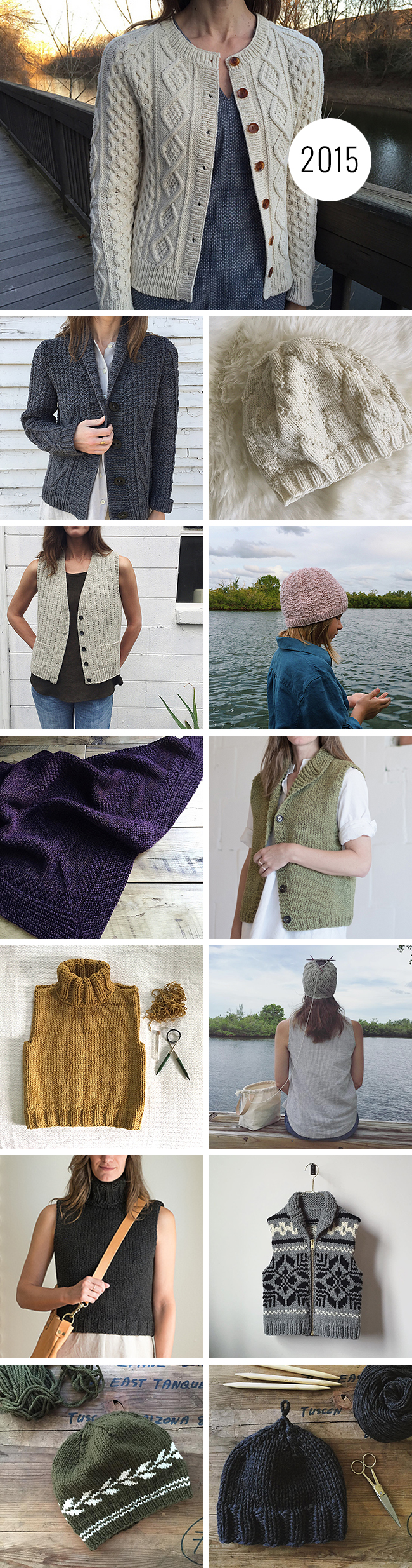 My knitting year in review