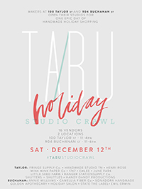 TA/BU Studio Crawl in Nashville 12.12.15